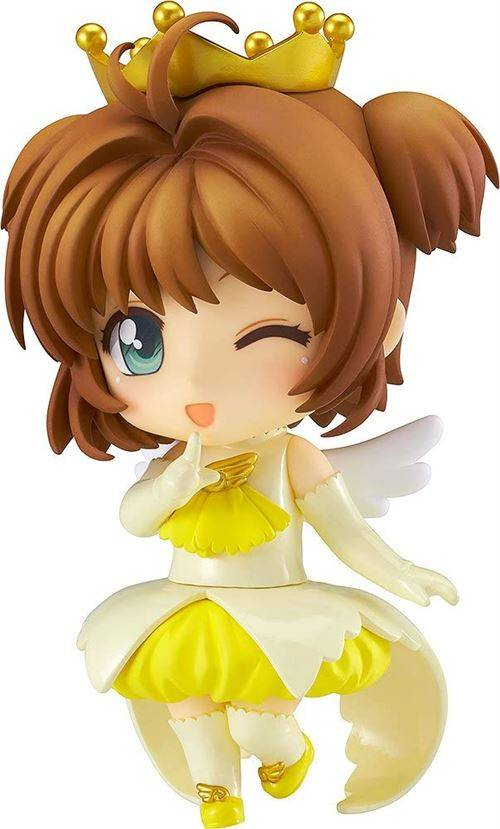 Good Smile Company Bon sourire Figure d'action de Sakura Kinomoto Nendoroid Co-De (version avec couronne d'ange) - Moyenne figurine