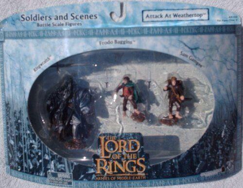 Non communiqué Le Seigneur des Anneaux Les armées de la Terre du Milieu Ringwraith Les figures Frodo Sam à l'échelle 124 - Autres figurines et répliques