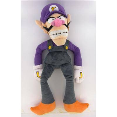 Banpresto Super Mario Bros - Waluigi 52 cm - Peluche (autre)