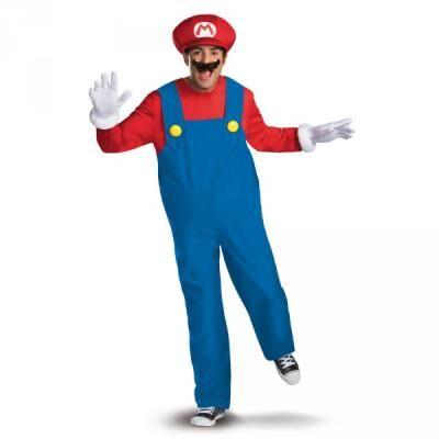 Disguise Costume de Mario Bros prestige pour adulte - XL - Déguisement adulte