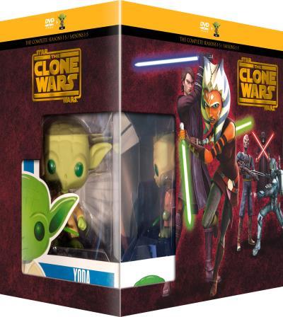 Warner Coffret Star Wars The Clone Wars DVD - DVD Zone 2