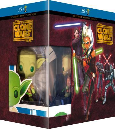 Warner Coffret Star Wars The Clone Wars Blu-ray - Blu-ray