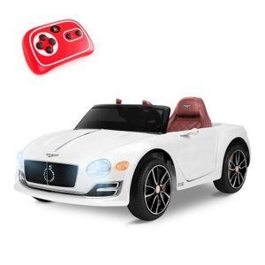 Non communiqué Voiture électrique pour enfant BENTLEY EXP12 blanche avec batterie 12V et télécommande - Playkin - Véhicule électrique pour enfant