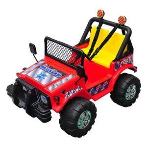 HOMCOM Voiture véhicule électrique pour enfants quad jeep 3-8 ans 12v rouge - HOMCOM - Véhicule électrique pour enfant