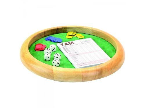 L'Arbre à jouer - Piste de dés en bois - yam - 421 - diamètre 35 cm - Tricycles