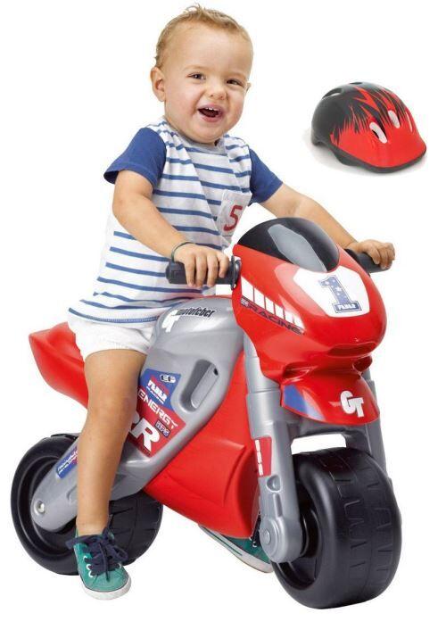 alpexe moto feber racing avec casque +3 ans - autre circuit / véhicule