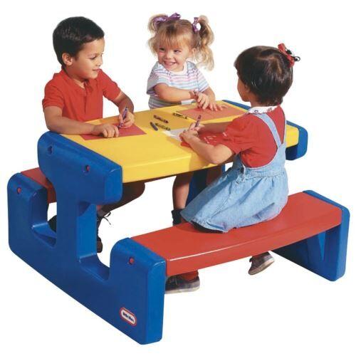 Little Tikes - Grande table pique nique - Primaire - Autre jeu de plein air