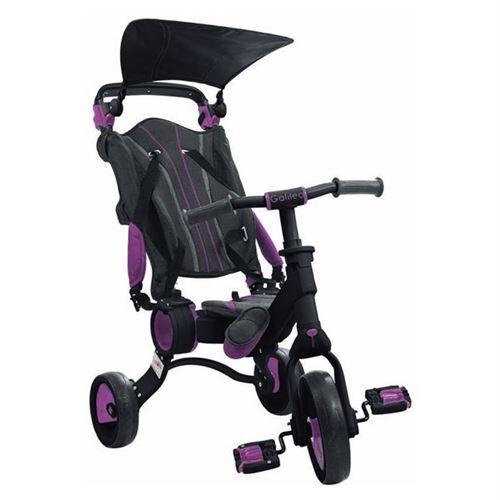 Non communiqué Tricycle Toimsa Galileo Pliable Rose Noir - Tricycles