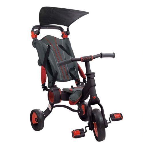 Non communiqué Tricycle Toimsa Galileo Pliable Rouge Noir - Tricycles