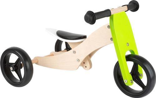 Small Foot Tricycle-Draisienne en bois Trike 2 en 1 - 11255 - Draisienne