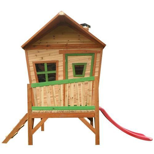 Axi Cabane enfant IRIS en cèdre vernis naturel - Maison de jardin - Maisons de jardin