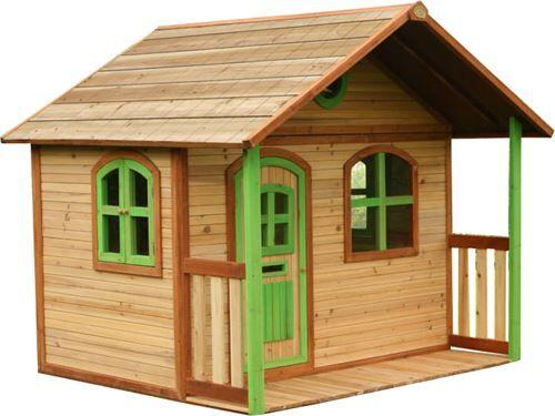 Axi Cabane enfant MILAN en cèdre vernis naturel - Maison de jardin - Maisons de jardin