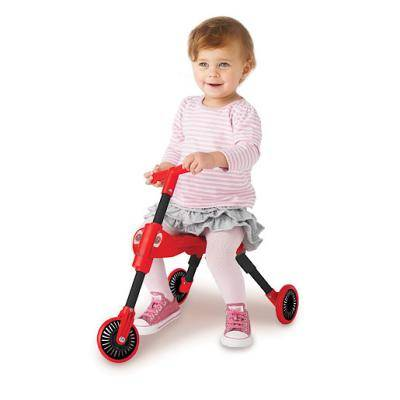 Mookie Scuttle Bug - Coccinelle Rouge - Tricycle Pliable - Tricycles