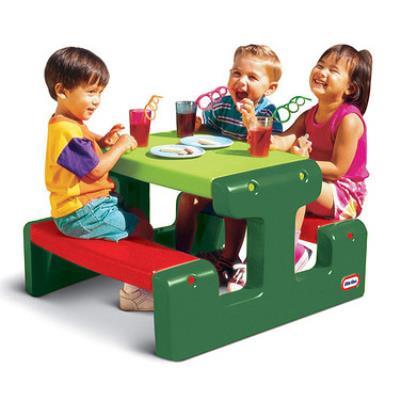 Little Tikes - 479A00060 - Table de Pique-Nique Junior Evergreen - Autre jeu de plein air