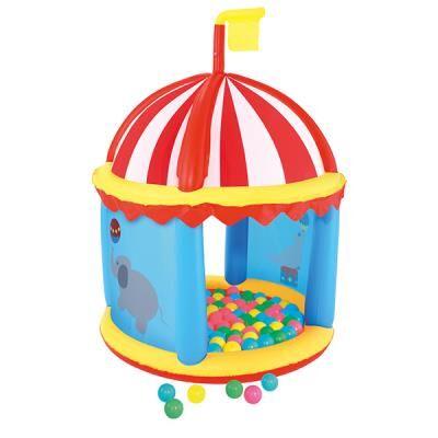 Maison Futée Piscine à boules et son chapiteau gonflables - Autre jeu de plein air