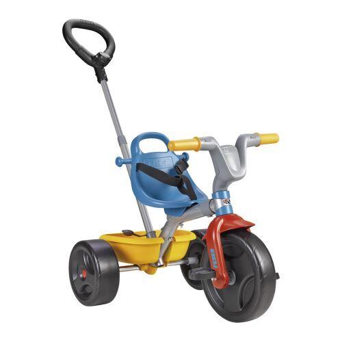 FEBE Tricycle Feber Evo Trike 3 en 1 Go Bleu et Gris - Tricycle