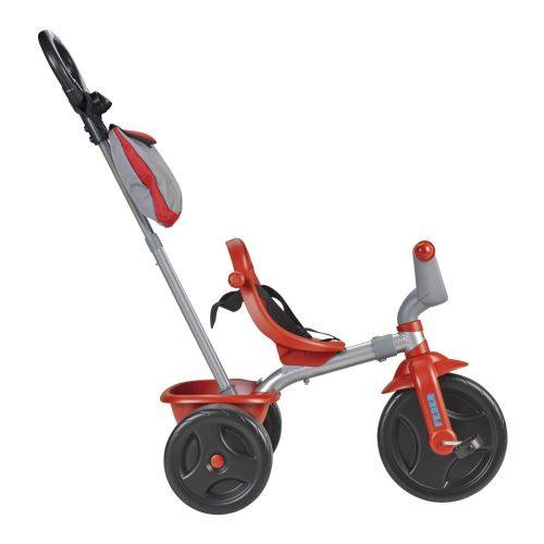FEBE Tricycle Feber Evo Trike 3 en 1 Plus Sport Rouge et Gris - Tricycle