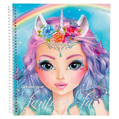 topm album top model fantasy face - carnets et journaux intimes