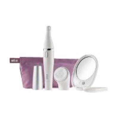 braun brosse nettoyante visage braun face 830 blanc - epilateur électrique
