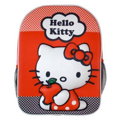 Hello Kitty Sac à dos hello kitty 3d en relief teen 40cm - maternelle et primaire - Cartables scolaires