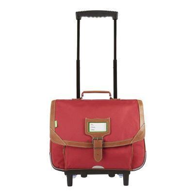 Tann's Trolley 38 Tann's Les Unis Madrid Rouge - Cartable, sac à dos primaire