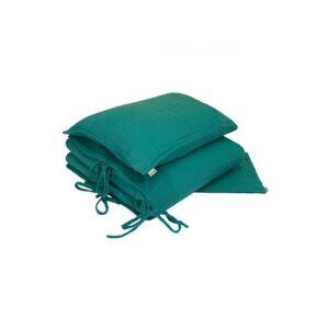 Non communiqué Parure de lit bleu turquoise - Parure de lit bébé