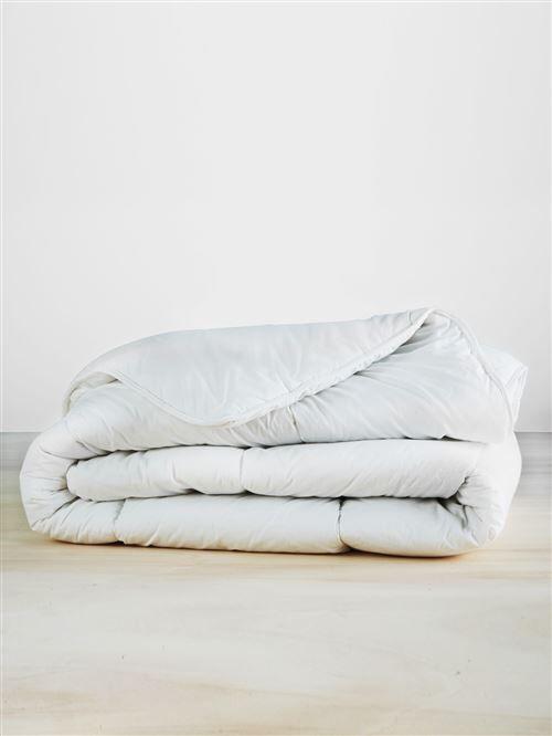 VERTBAUDET - Couette en coton bio* BIO COLLECTION - blanc - 140X150 - Couvertures - Edredons - Couettes