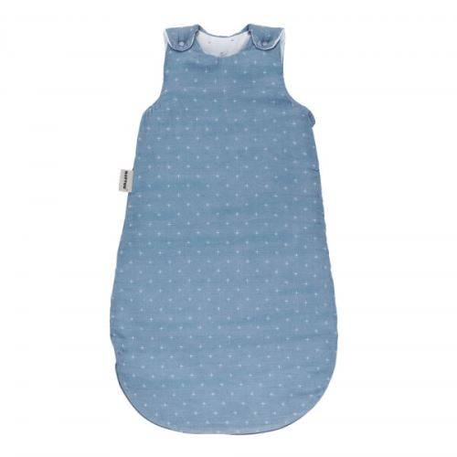 Nattou Gigoteuse coton 70 cm bleu foncé - nattou - Gigoteuses - Nids d'Ange