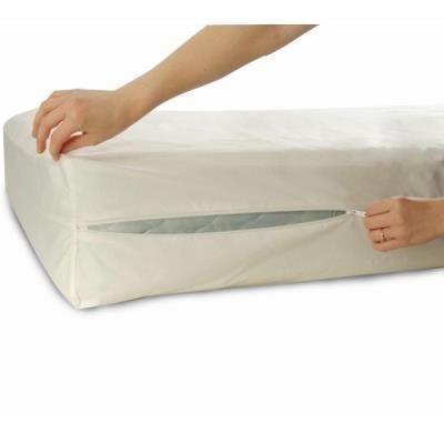 Allersoft protège-matelas en coton anti-acariens et punaises de lit 90 x 200 x 25 cm - Matelas Drap-Housse