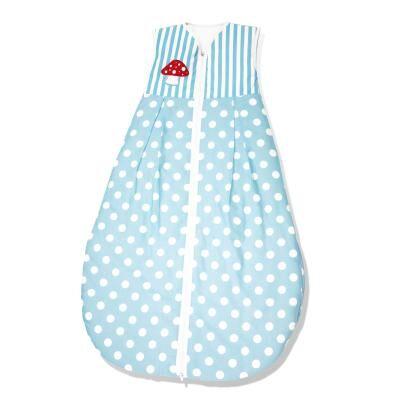 Pinolino - Gigoteuse bébé été 130 cm - Bleu à ronds blancs - Gigoteuses - Nids d'Ange