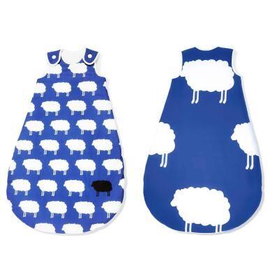 Pinolino - Gigoteuse bébé été 70 cm – Joyeux Moutons bleus - Gigoteuses - Nids d'Ange