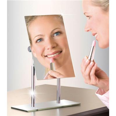 WENKO Miroir Cosmétique sur Pied Pinerolo - Cadres et miroirs