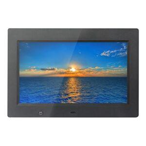 Xoro DPF 10b1 Cadre photo numérique 25,6 cm (10,1 pouces) Écran TFT (16 : 9, SD/SDHC/MMC/MS PRO, USB 2.0, diashow, lecture de vidéo, télécommande) Noir - Cadre photo numérique