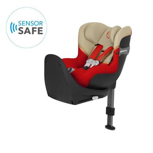 cybex siège auto + sensorsafe sirona s i-size - autumn gold - sièges auto, nacelles et coques