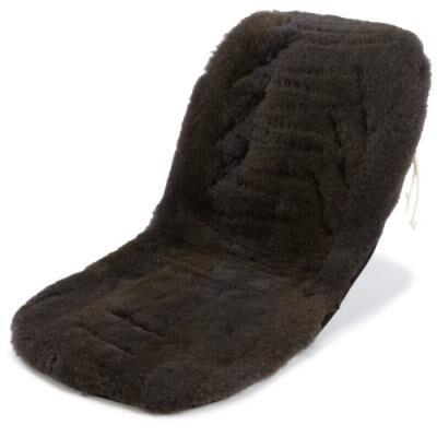 Kaiser housse pour poussette - revêtement peau d'agneau - anthracite patchwork - Ombrelle