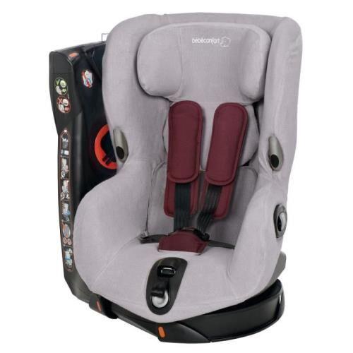 BBCF Housse éponge Bébé Confort pour siège auto Axiss Gris - Accessoire sorties