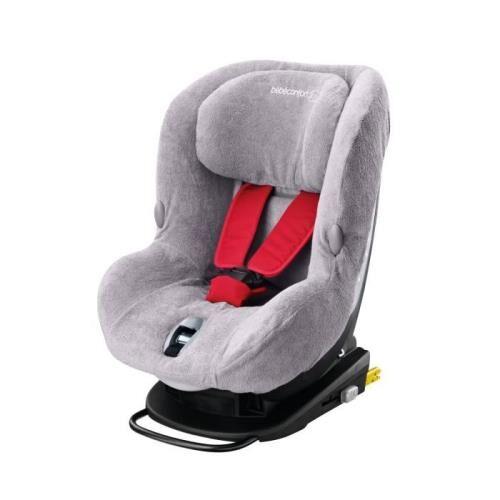 BBCF Housse éponge Bébé Confort pour siège auto MiloFix Gris - Accessoire sorties