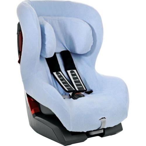 ROMR Housse d'été Britax Römer pour siège auto Safefix Plus Bleu - Accessoire sorties