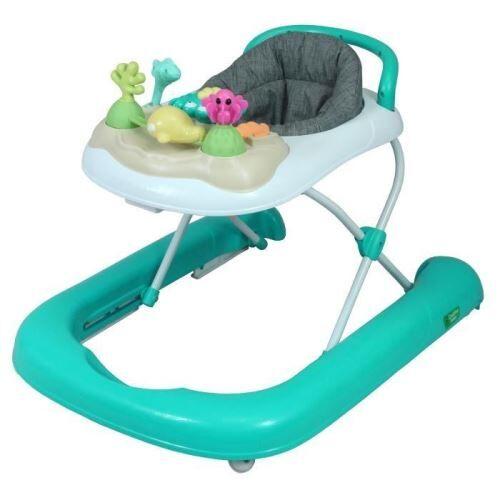 bambisol creative baby trotteur évolutif - 6 a 18 mois - pliage extra plat bambisol tr05l3c - trotteurs