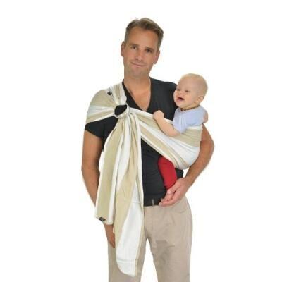 hoppediz r-kai kairo écharpe de portage/ring-sling avec guide d'utilisation - Ombrelle