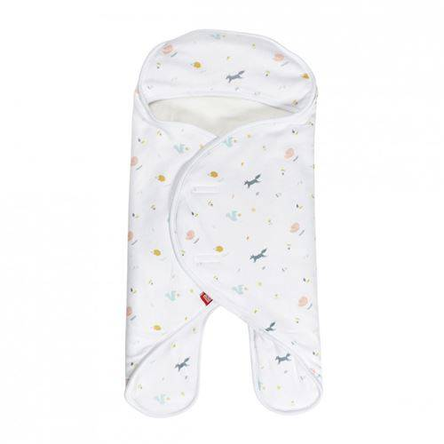 Red Castle Babynomade Double polaire 0-6m Happy Fox / Blanc - Accessoires poussettes