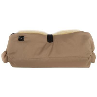 Kaiser accessoire poussette - protège mains - big double - peau d'agneau - sable - Ombrelle