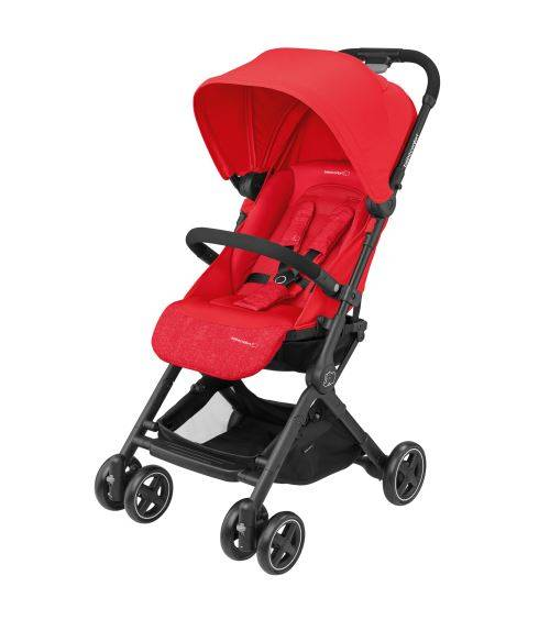 bbcf poussette canne bébé confort lara nomad rouge - poussette