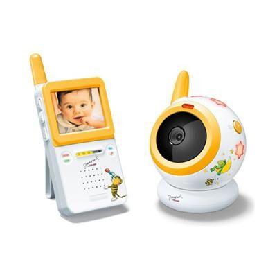 beurer - babyphone vidéo infrarouge jby101 - babyphone