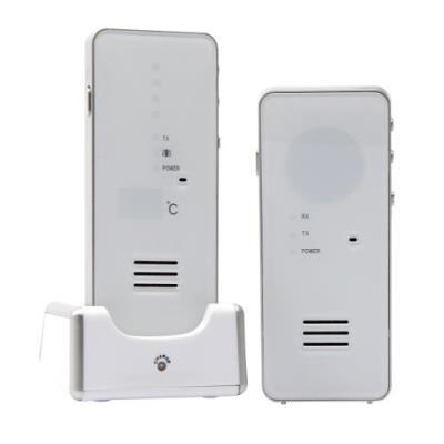 olympia ecoute bébé / babyphone digital à faible émission d'ondes blanc - babyphone