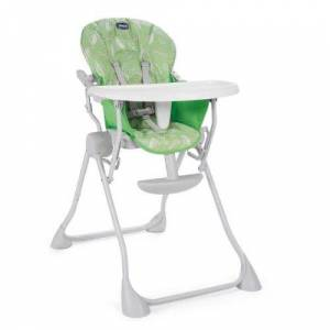 Chicco Chaise haute pocket meal summer green - chicco - Chaises hautes et réhausseurs