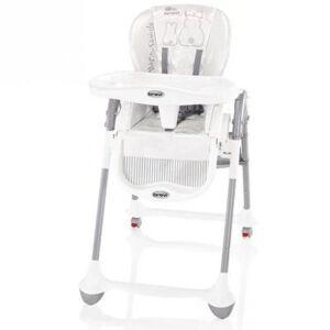 Brevi chaise convivio réglable blanc - Chaises hautes et réhausseurs