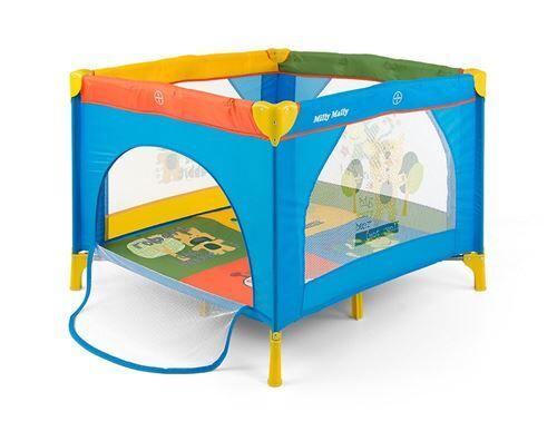 Milly Mally Lit de voyage/parc pliant moustiquaire 100x100cm bébé enfant 0+ Fun - Lits parapluie
