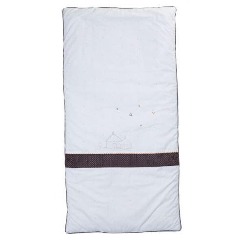 Sauthon Housse de couette et taie d'oreiller kenza - sauthon - Parure de lit bébé