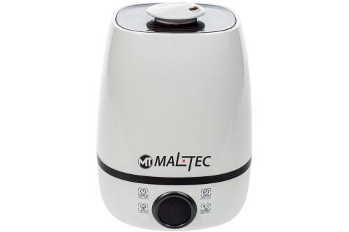 MTEC   Humidificateur d'air maison/bébé + Diffuseur d'Huiles Essentielles 23 W   3 Modes de Brume Vapeur froid + lumières LED   Blanc - Humidificateurs